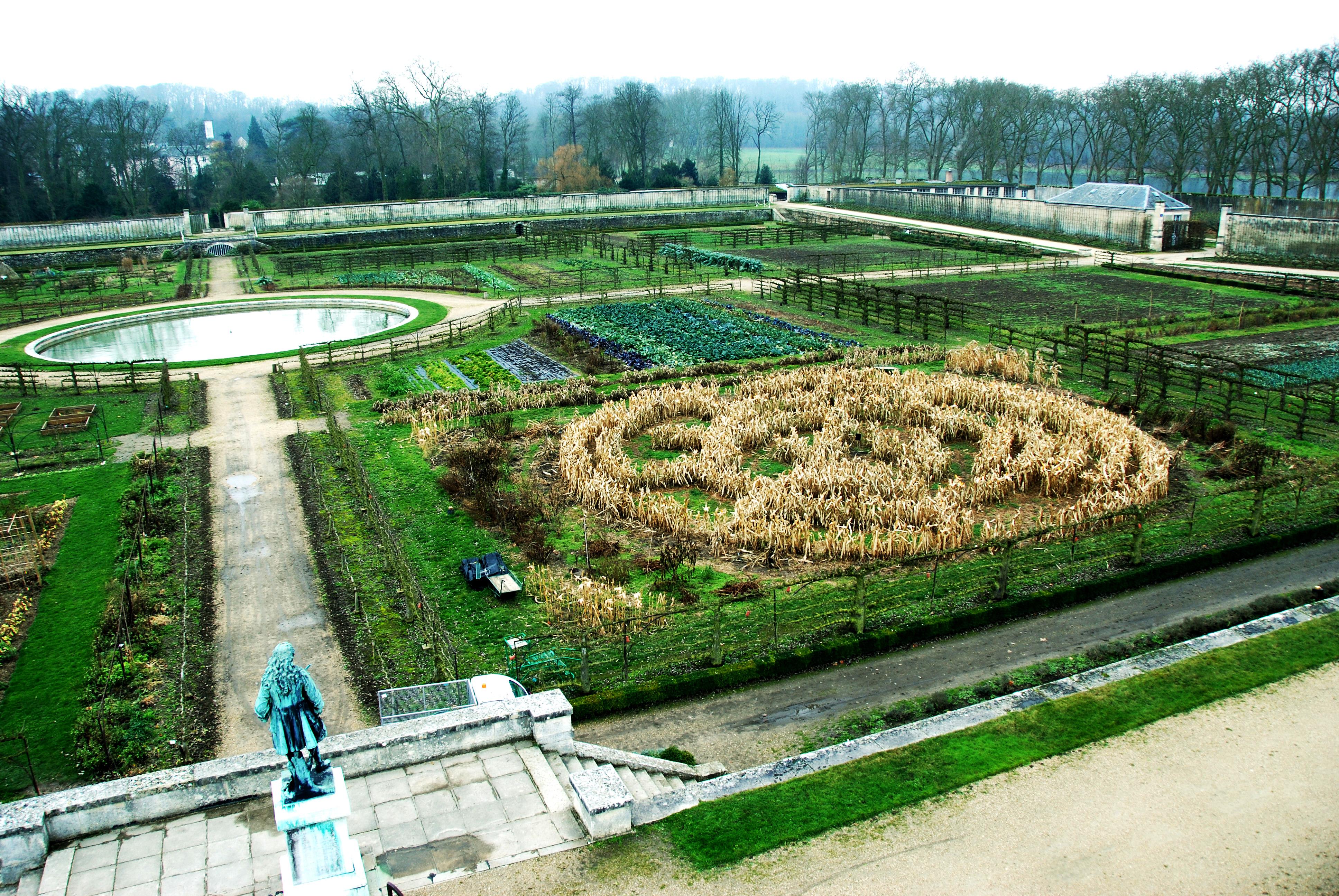 centre potager du roi spirale mais le jardin fengshui - Le Jardin