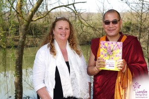 Nathalie Normand et Phakyab Rinpoché