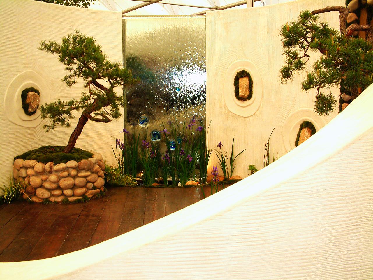 3 une terrasse de bien tre le jardin feng shui. Black Bedroom Furniture Sets. Home Design Ideas