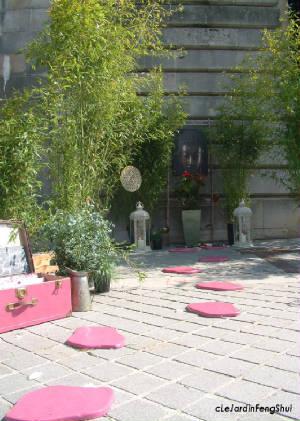 cr ation le jardin de bouddha le jardin feng shui. Black Bedroom Furniture Sets. Home Design Ideas