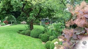 Le Jardin de Roses Anglaises