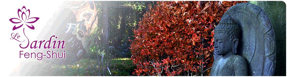Bouddha & Sculpture. Le Jardin Feng-Shui Nathalie Normand